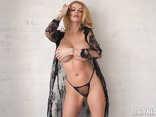 Divine MILF Joslyn James will have you in trance with their way big Bristols