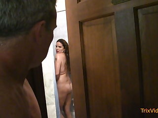 He Fucks Sister-in-law From Bathroom to Assembly room