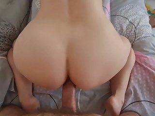 Anal coitus ended with untimely ejaculation