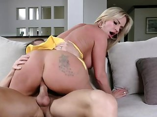 Milf Rachael Cavalli seducing her stepsisters husband