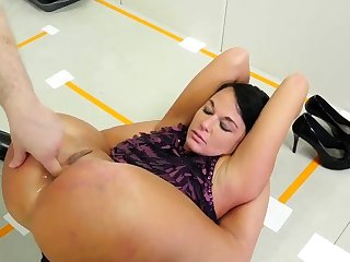 Dad rough sex prevalent playmate' crony's daughter and anal hd