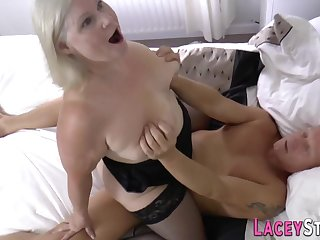 Granny Bitch Gets Bootie Shagged