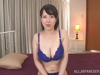 Japan mature fucked by a younger man on cam