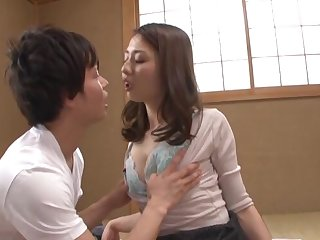 Naughty Maeta Kanako moans while getting fucked in different poses