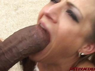 Blonde MILF Natalia has never seen such HUGE Genitalia