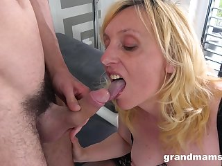 Cruel mature in stockings sucks and rides a dick be worthwhile for a younger dude