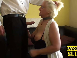 Naughty granny Intone is hungry be useful to some really dirty fucking