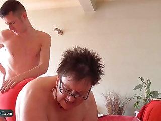 AgedLove Fat mature Expensive hardcore with Sam Bourne