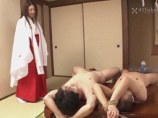 Fucking Of age Priestess Ayano Murasaki (Uncensored JAV)