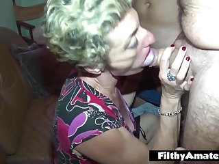 Mature plus Rasta loves Double Penetration! Nasty Amateurs!