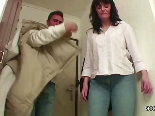Young people Butter up MILF from the Street to get Major Fuck