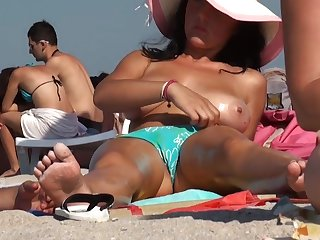 busty milf while away