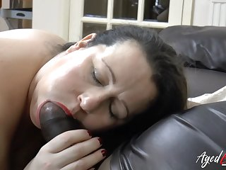 AgedLovE Solid Busty Grown up Chick Hardcore Fuck