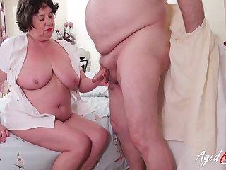 British full-grown lady Trisha enjoys hardcore penalty of her crevice