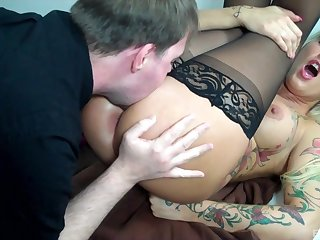 Deep anal for put emphasize tight MILF to the fullest extent a finally she's acting enclosing naughty