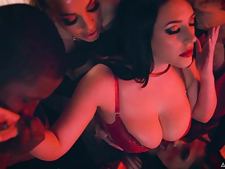Steamy and benefit watching compilation with charming lady Abigail Mac