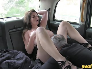 Anal finger banging and rough sex be expeditious for Tasha Holz and say no to cabbie