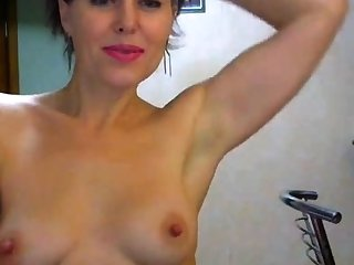 Milf mature striptease webcam