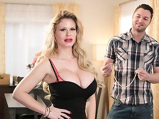 Hot Milf Casca Akashova loves young cock